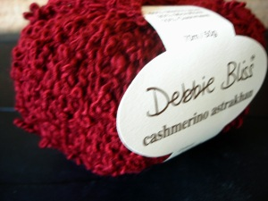 Lots of Debbie Bliss Cashmerino Astrakhan at $3 a ball.