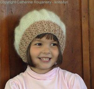 Milla in her Kidsilk Haze beret