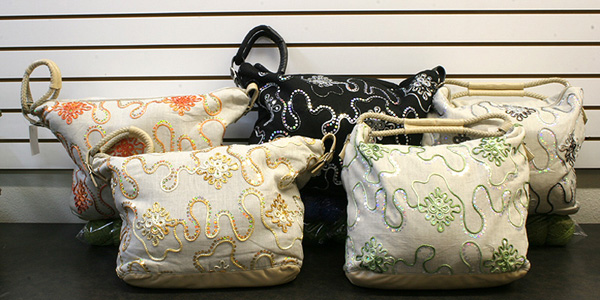 Trendsetter Jewel Knitting Bags
