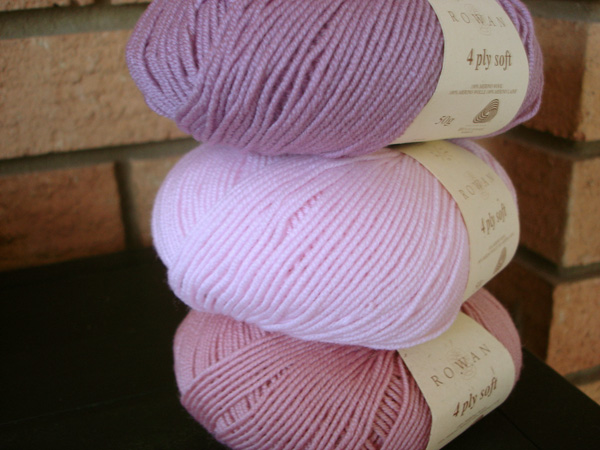 Assorted Balls of Rowan 4 Ply Soft