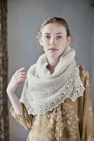 Brooklyn Tweed Quill Shawl