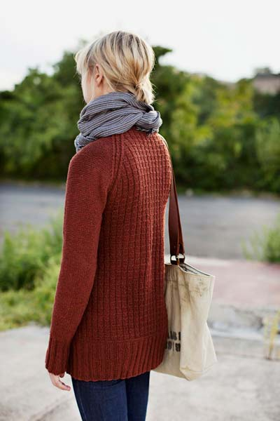 Brooklyn Tweed TInder Cardigan